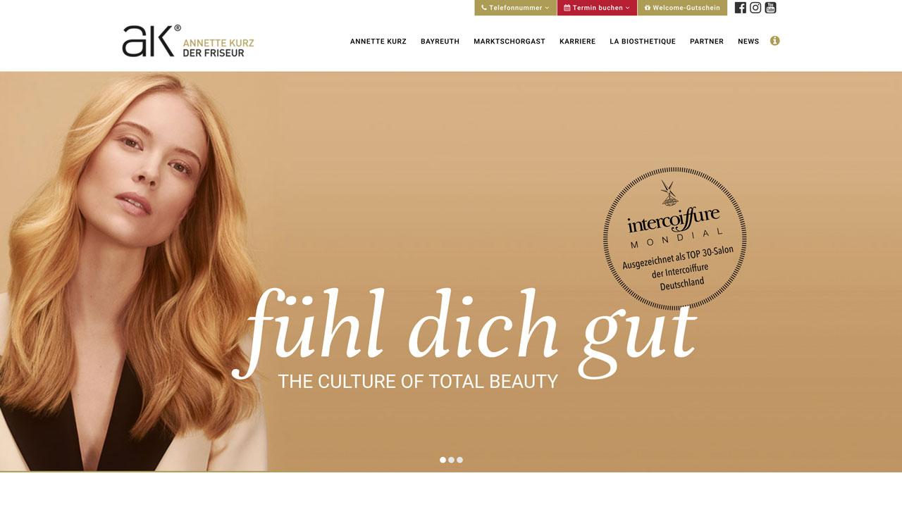 AK der Friseur Website - Home Fühl Dich gut – AK online Fühl Dich gut – AK online Feel good – AK online