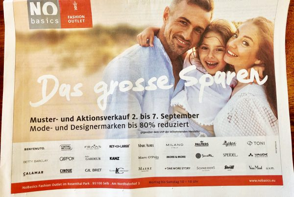 No Basics das Große Sparen The big saving NoBasics