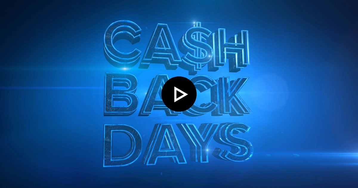 TV Spot Cashback Days flatex Trailer Thumbnail