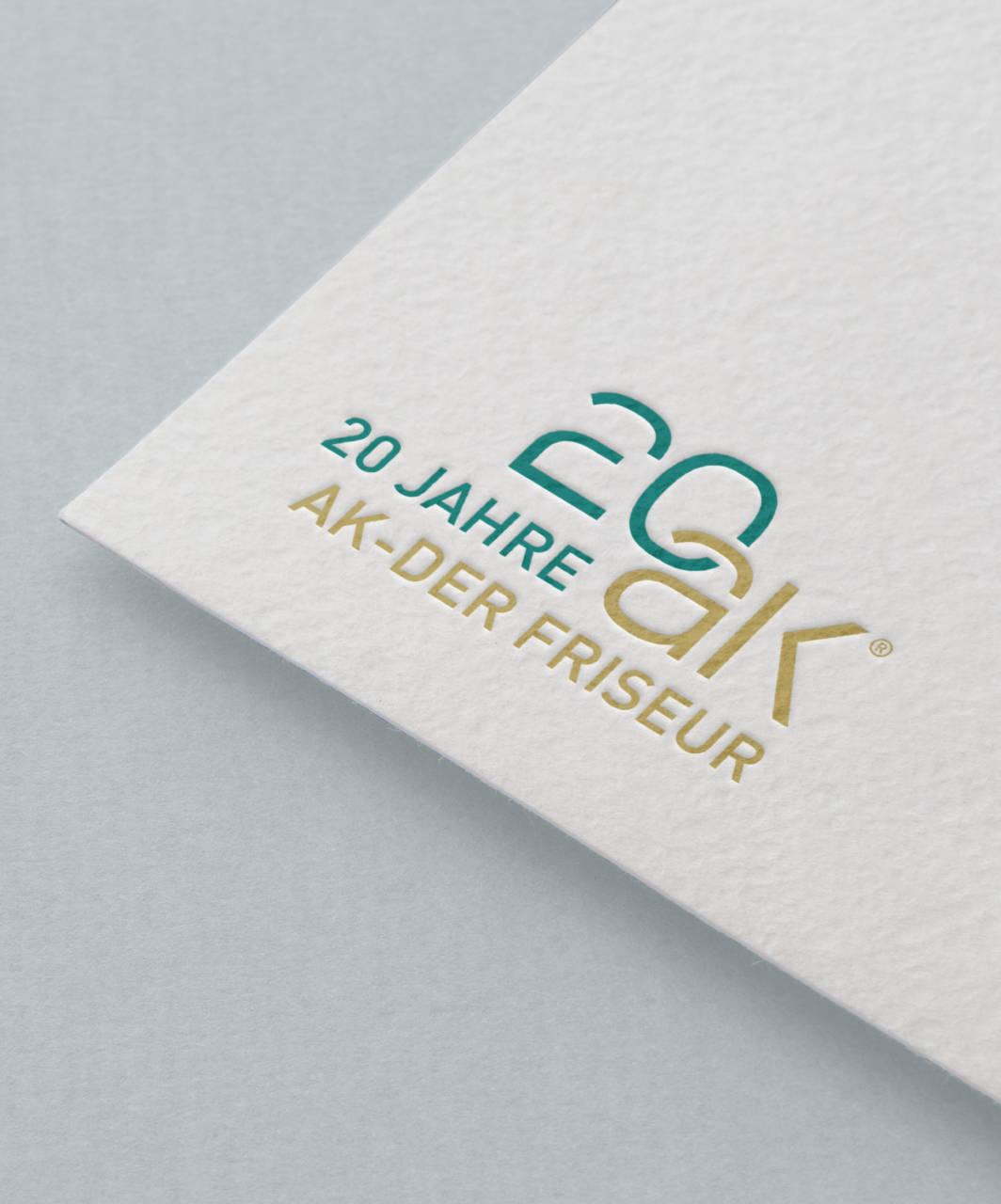 20 Jahre AK - das Jubiläum Logo