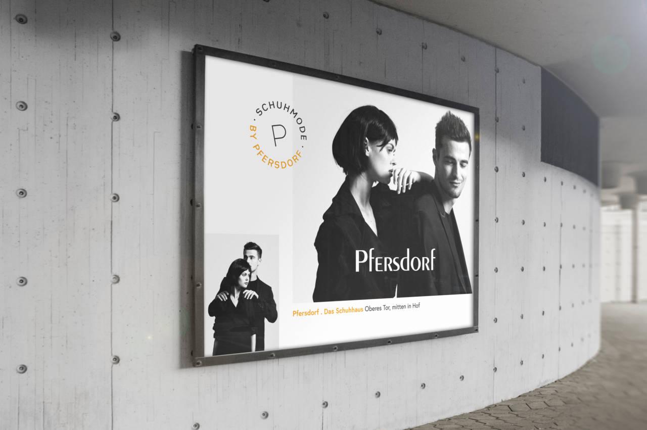 Pfersdorf Schuhhaus Billboard Fashion-Adventures by Pfersdorf - Kampagne