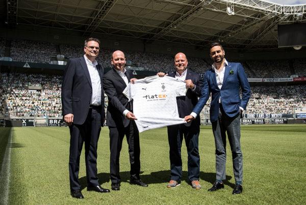 flatex Borussia Mönchengladbach flatex in the Champions League