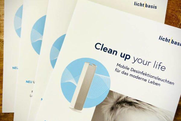 lichtbasis UVC-Sterilon A5 Folder Mit Licht gegen Bakterien Mit Licht gegen Bakterien