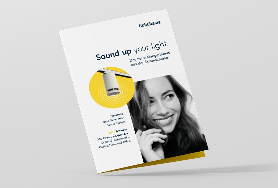 lichtbasis Spottune Folder Spot an. Und Ton dazu!