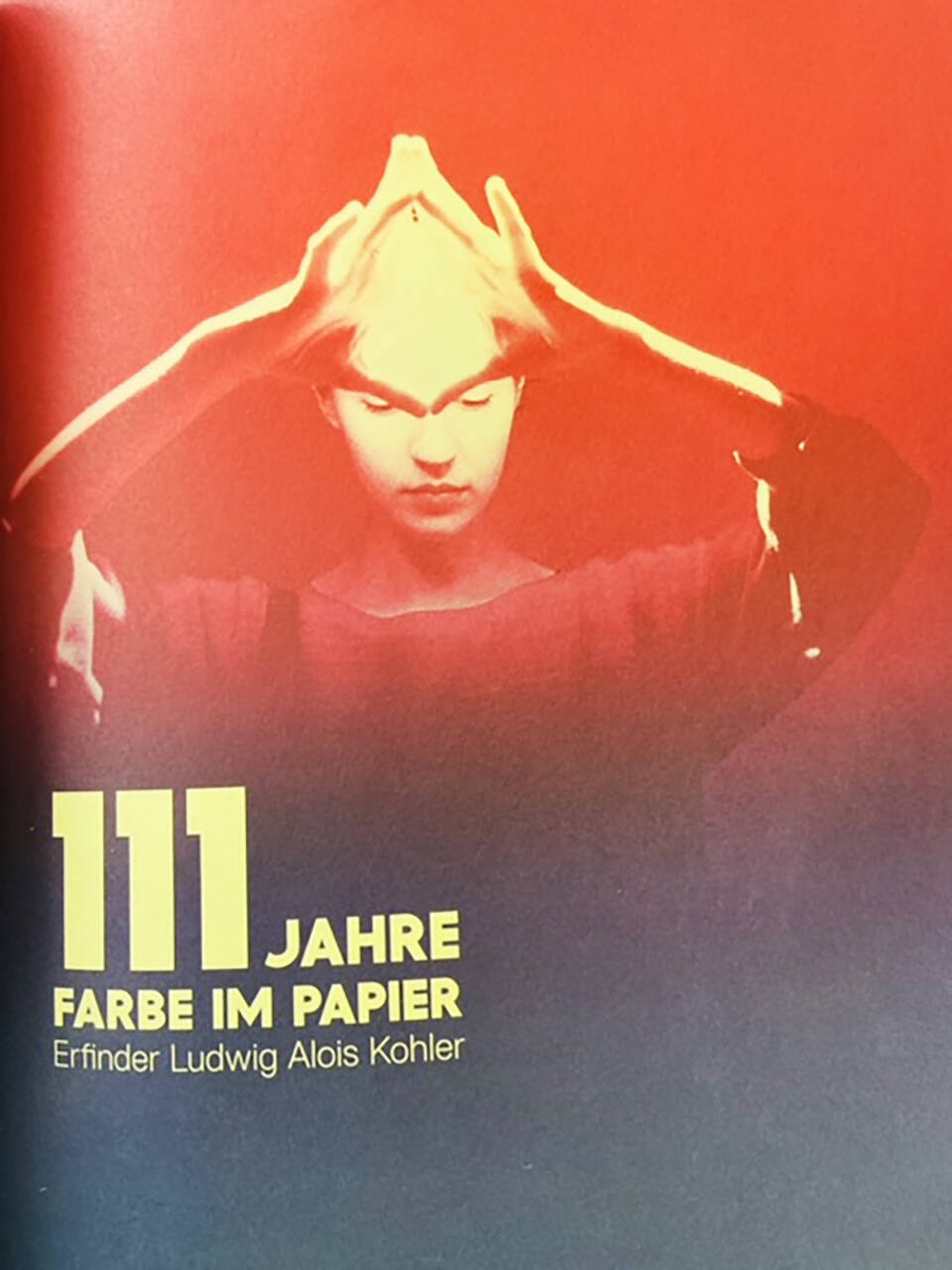 111 Jahre Farbe im Papier